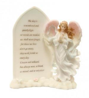 Pack of 2 Seraphim Classics - Memorial Plaque Angel Figures #82728