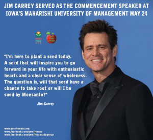 Jim Carrey's Graduation Speech Quote..
