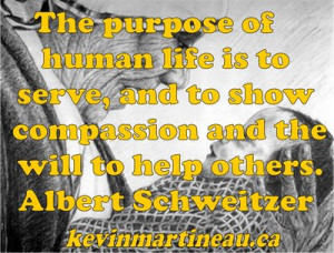 ... being compassionate? What tends to keep you from being compassionate