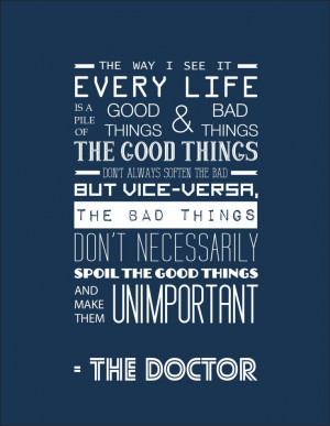 doctor who quotes matt smith | Request a custom order and have ...