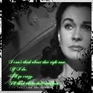 Scarlett O'Hara Scarlette w/quote