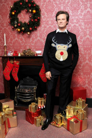 ... Colin Firth, Christmas Sweaters, White Stuff, Bridget Jones Diaries
