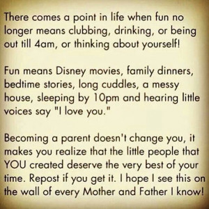 BEiNG A PARENT
