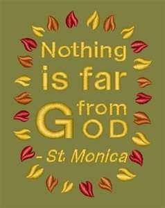 St. Monica quote