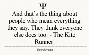important quotes from kiterunner English novel the kite runner the kite runner author: this chapter is very important for defining the relationship between hassan and the narrator.