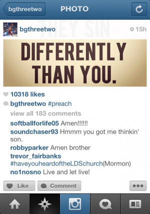 NBA's Blake Griffin Pubs a Mormon Quote