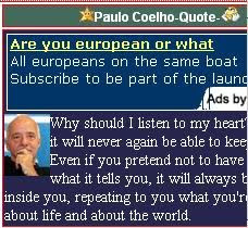 than 100 quotes by paulo coelho reload the page to get a new quote ...
