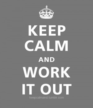 Work Out quote #2