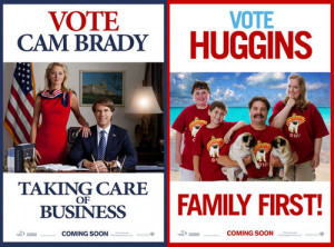 The Campaign Quotes The campaign: brady v huggins