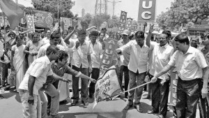 Trade unions, workers celebrate May Day - The Hindu