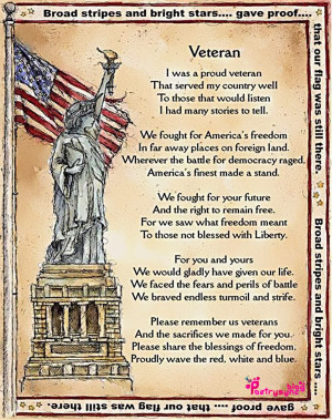 Veterans Day Wishes Quotes, Poems and Sayings Pitures   Poetry