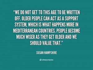 Susan Hampshire Quotes