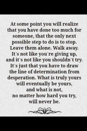 What's meant to be will be