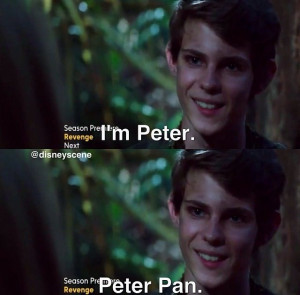 Peter Pan from OUAT. He's so evil and adorable, just look at how ...