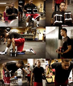 Basketball Derrick Rose...