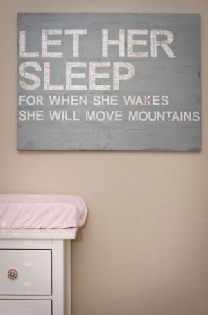 baby quote. so precious...