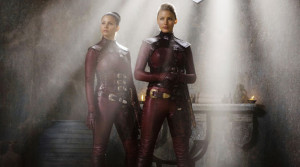 Mord-Sith (played by Charisma Carpenter and Tabrett Bethell)