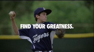 Find Your Greatness Nike Baseball