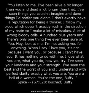 Buffy quotes