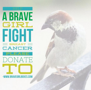 Cancer Patients by Donating to Brave Girl Boxes! We deliver