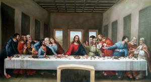 Une version multimédia de La Cène de Léonard de Vinci