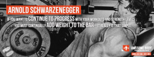 arnold schwarzenegger workout quotes progressive resistance if you ...