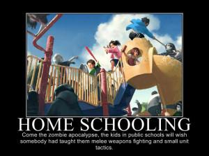 Homeschoolers vs. Zombies