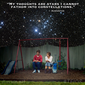 The Fault In Our Stars My thoughts are stars I cannot fathom into ...