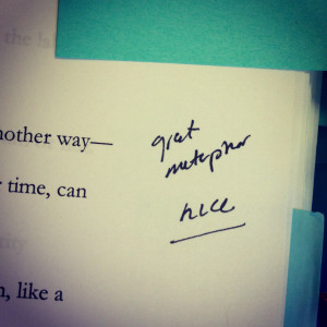 The publisher 's notes on the ALLEGIANT manuscript. That's a lot ...