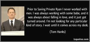 More Tom Hanks Quotes