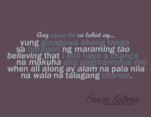 Heartbroken Quotes Tagalog For Girls