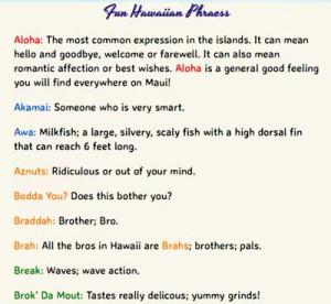 hawaiian phrases