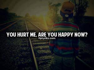 hurt me | via Facebook