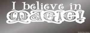 believe in magic timeline cover, my quote timeline cover banner