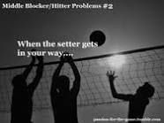 middle hitter volleyball quotes - Google Search