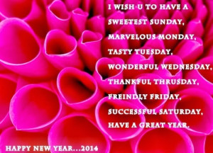 Happy New Year Wishes Quotes | Happy New Year Images 2014