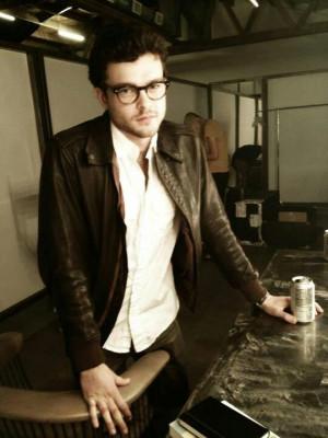 Alden Ehrenreich. He should wear glasses always. Beautiful Men ...