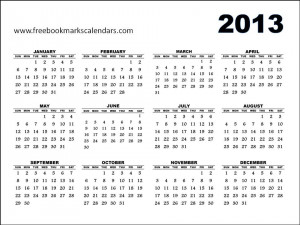 calendar yearly calendar template 2013 yearly landscape 2013 yearly ...