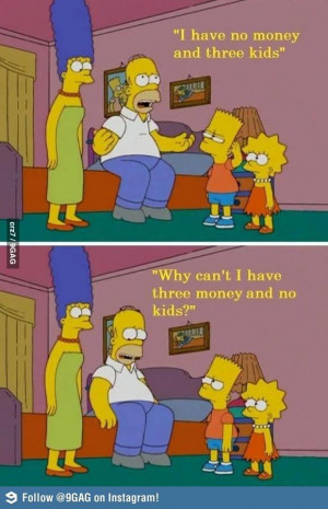 Homer Simpson Problem - funny Picture