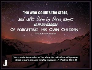 Charles Spurgeon Quote - Psalms 147