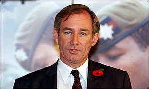 Geoff Hoon quot No plans for military action quot