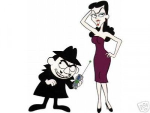 for some inane reason i was thinking rocky and bullwinkle today they ...