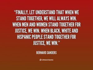 Stand Together Quotes