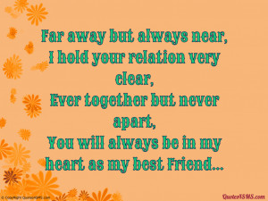 You Are My Best Friend 4 Ever You will always be in my heart