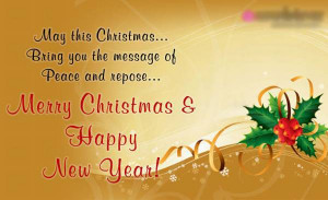 ... it on christmas eve wishing you a merry christmas and happy holidays