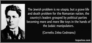 The Jewish problem is no utopia, but a grave life and death problem ...