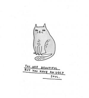Ugly soul Gemma Correll Illustration