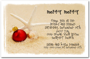 Christmas Party Invitations Christmas and Holiday Party Favors ...