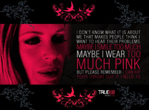 Pam From True Blood | ...Maybe I wear too much pink...