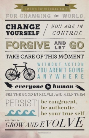 inspirational quotes gandhi
